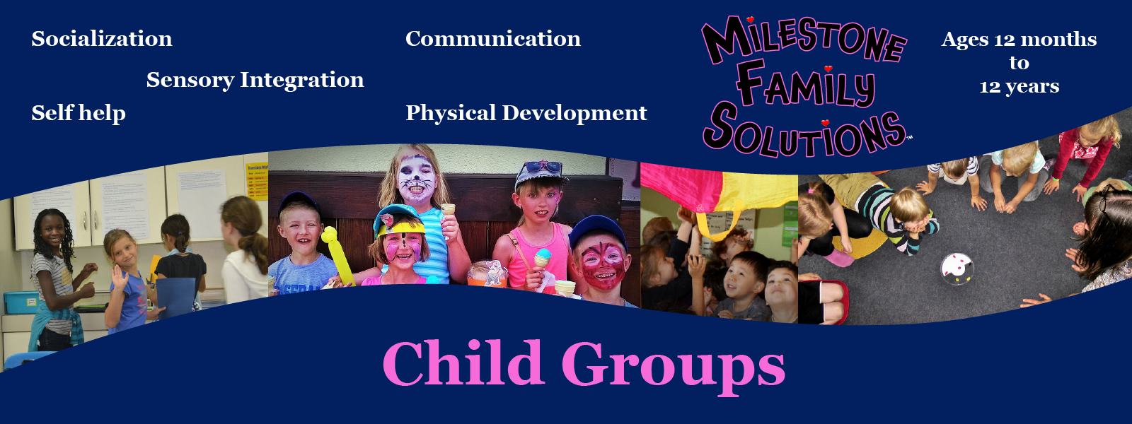 Child groups header