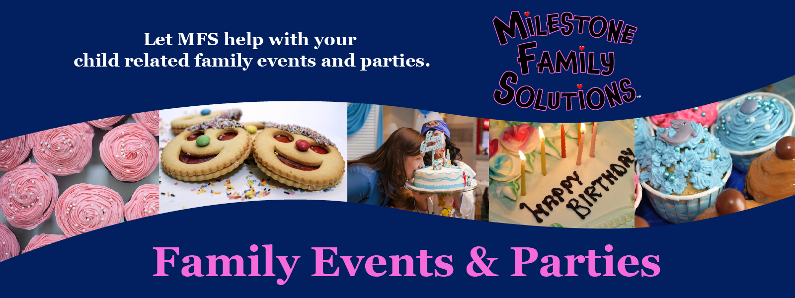 Family Events & Parties Header