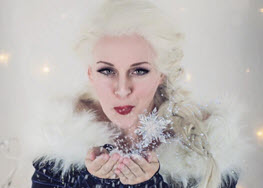 Ellie English as Snow Queen