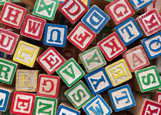 Image of alphabet blocks