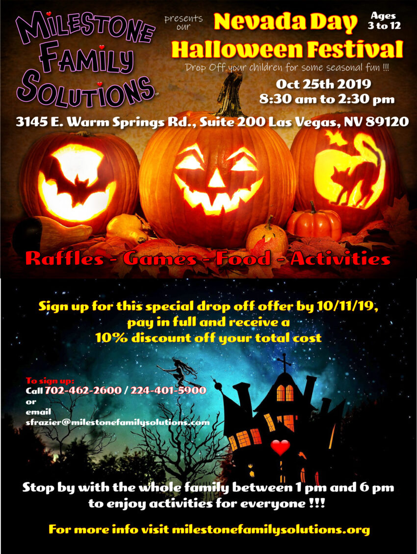 Nevada Day Halloween Festival